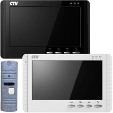 CTV-DP1700M Комплект цветного видеодомофона с экраном 7'' со встроенной памятью