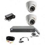 Готовый комплект видеонаблюдения  (помещение +2)