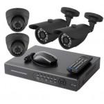 Готовый комплект видеонаблюдения (универсальный 2+2)
