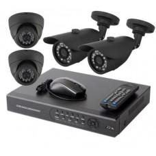 AHD Готовый комплект видеонаблюдения(универсальный +2+2)