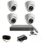 AHD Готовый комплект видеонаблюдения(для помещения +4)