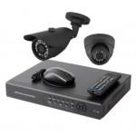 AHD Готовый комплект видеонаблюдения(универсальный +1+1)