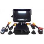 4-ех канальный готовый автомобильный комплект  (монитор 4.3 дюйма)